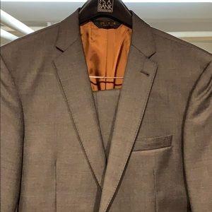 Jos A Bank Charcoal Grey 40L Slim Fit Suit